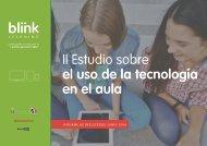 II Estudio sobre el uso de la tecnología en el aula