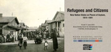 Refugees and Citizens