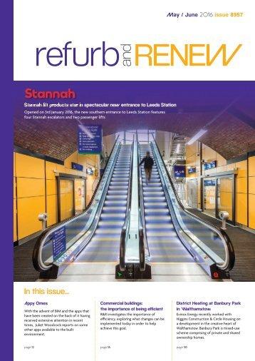 May Refurb and Renew Magazine