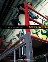 Metaltech - Catalogue