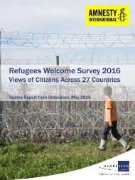 Refugees Welcome Survey 2016