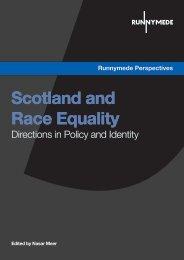 Scotland and Race Equality