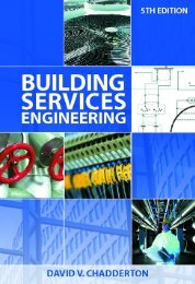 Building Services Engineering 5th Edition Handbook