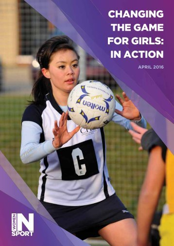 CHANGING THE GAME FOR GIRLS IN ACTION