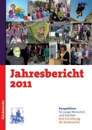 Jahresbericht 2011 1.indd - Die Kinderarche