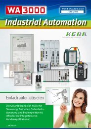 WA3000 Industrial Automation Juni 2016
