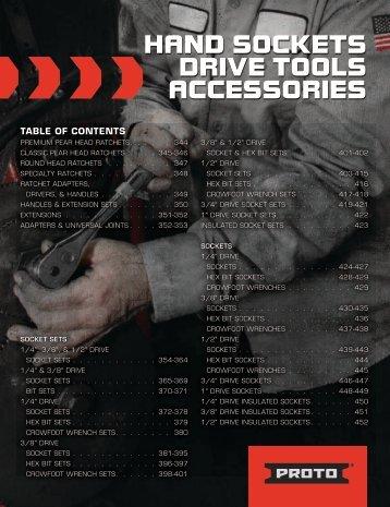 Proto - Douilles, Outils, Accessoires