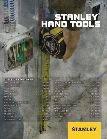 Stanley - Outils à main