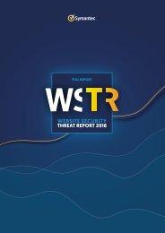 WEBSITE SECURITY THREAT REPORT 2016