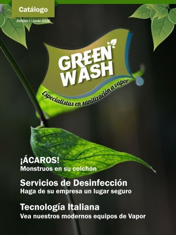 CATALOGO GREEN WASH JUNIO