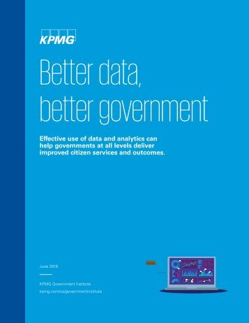 Better data better government