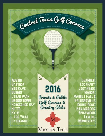 Central Texas Golf Guide