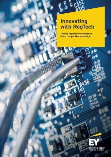 Innovating with RegTech