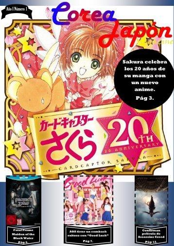 Corea Japón Magazine Nº1