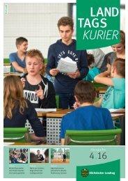 Landtagskurier, Ausgabe 4/2016