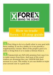 How to trade Forex - 13 (+2) Step Guide Magazin