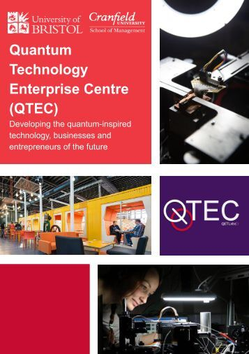 Quantum Technology Enterprise Centre (QTEC)