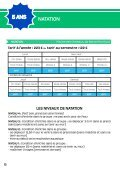 ÉCOLE DE TENNIS ÉCOLE DE TENNIS - Page 6