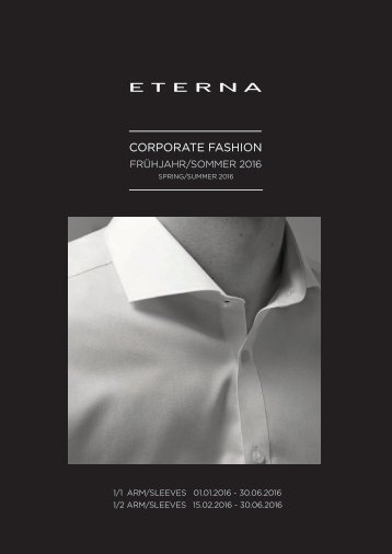 Corporate Fashion, Berufsbekleidung Eterna