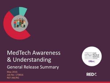 MedTech Awareness & Understanding