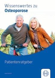 Wissenswertes zu Osteoporose
