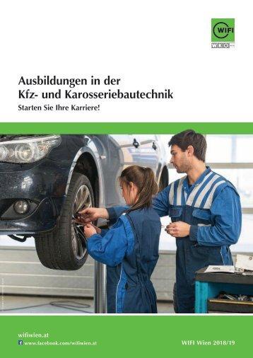 Ausbildungen in der Kfz- und Karosseriebautechnik