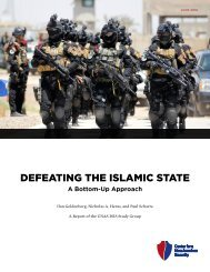 DEFEATING THE ISLAMIC STATE