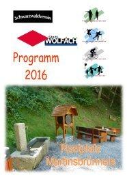 Wanderprogramm 2016