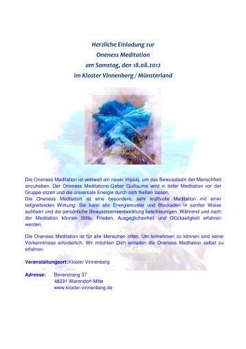Einladung OM 18-08-2012 1 - oneness 24