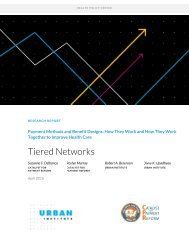 Tiered Networks