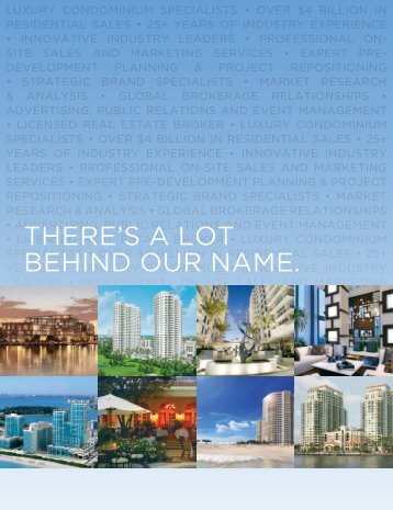 PSG print brochure