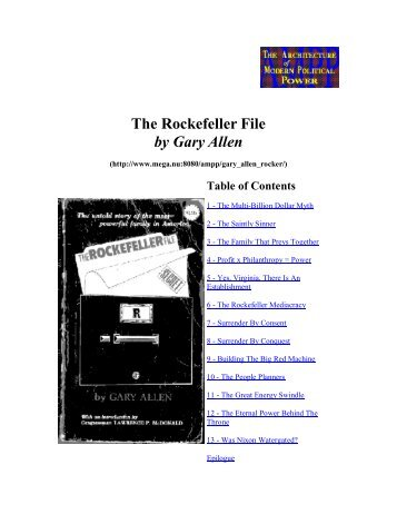 The Rockefeller Files