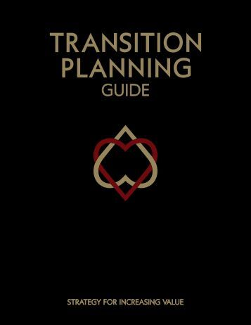 Transition Planning Guide - Value Added