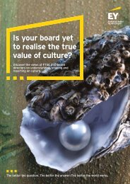 Is your board yet to realise the true value of culture?