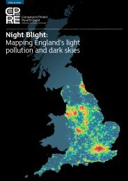 Night Blight Mapping England's light pollution and dark skies