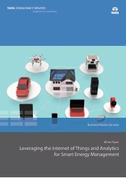Leveraging the Internet of Things and Analytics for Smart Energy Management