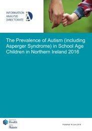 Children in Northern Ireland 2016