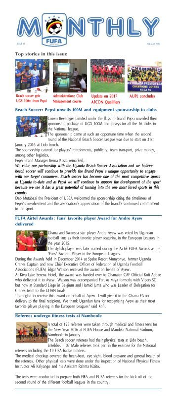 FUFA-Newsletter-Jan-May-2016