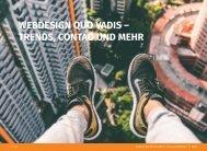 Webdesign quo vadis - Trends, Contao und mehr