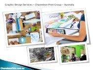 Graphic Design Services - Chameleon Print Group - Australia