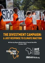 The Divestment Campaign