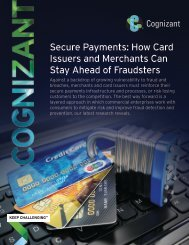 Secure Payments How Card Issuers and Merchants Can Stay Ahead of Fraudsters