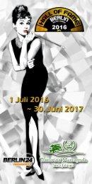 Hall of Fame Berlin 2016 - Info Flyer