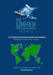 Sales brochure Omenem Holding