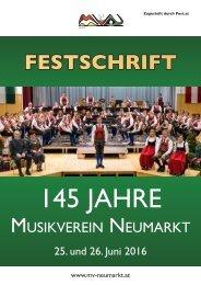 Festschrift 145 Jahre MV Neumarkt