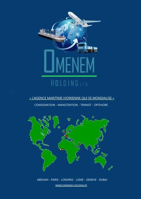 Plaquette présentation Omenem Holding