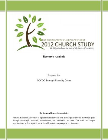 2012 Church Study Report