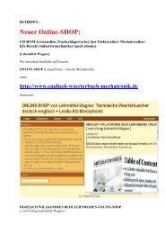 Shop von Lehrmittel-Wagner: Nachschlagewerke (Buecher Software Ebooks) online kaufen