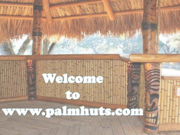 Best Palm Huts in Florida