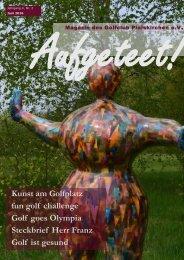 'aufgeteet!' - online Clubmagazin Golfclub Pleiskirchen e.V.